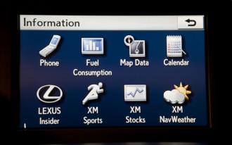 Enform Infotainment Features Launch In 2010 Lexus HS 250h