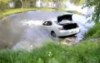 Lexus ES Gets Towed Out Of River, Slides Right Back In: Video