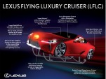 Lexus Flying Luxury Cruiser - Santa's transport this Christmas