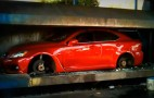 Lexus IS-F Crushed For Street Racing? Video