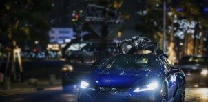 Lexus LC appears in the new Black Panther film