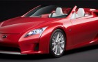 Lexus LF-A Roadster Concept stars at Detroit