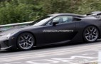 Spy Shots: More 2011 Lexus LF-A