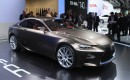Lexus LF-CC Concept, 2012 Paris Auto Show