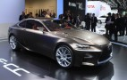 Lexus LF-CC Live Photos And Design Video: 2012 Paris Auto Show