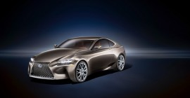 Lexus LF-CC coupe concept, 2012 Paris Auto Show