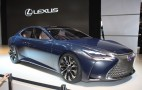 Lexus LF-FC Concept Previews Next LS, Fuel Cell Future: Live Photos & Video