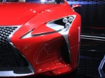 Lexus LF-LC Concept live photos, 2012 Detroit Auto Show