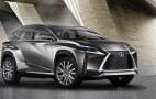 Lexus LF-NX Compact Crossover Concept Previews Production 2015 Lexus NX Hybrid Model