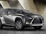 Lexus LF-NX Compact Crossover Concept Previews Production 2015 Lexus NX Hybrid Model