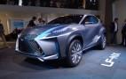 Lexus LF-NX Concept Live Photo Gallery: 2013 Frankfurt Auto Show