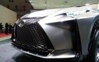 Lexus LF-NX Turbo Advanced Crossover Concept: Tokyo Motor Show Live Photos
