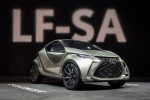 Lexus LF-SA Concept: Tiny Smart-Like Luxury Concept At Geneva Show