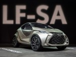 Lexus LF-SA Concept: Tiny Smart-Like Luxury Car At Geneva Show