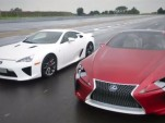 Lexus LFA and the 2012 Lexus LF-LC Concept