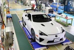 Lexus LFA build #500