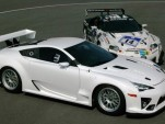Lexus LFA Nurburgring 24 Hour race car