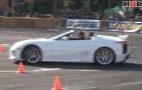 Lexus LFA Roadster Makes Surprise Showing At Drift Event: Video
