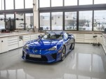 Lexus LFA service being done at TMG in Cologne, Germany