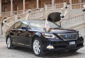 Hybrid Lexus LS 600h Limousine Will Turn Royal Wedding Green