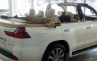 Lexus LX 570 convertible shows up at Dubai dealership
