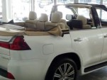 Lexus LX 570 convertible at Dubai dealership