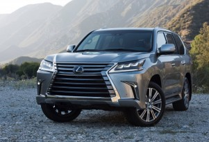 Refreshed 2016 Lexus LX 570 SUV Bows At Pebble Beach