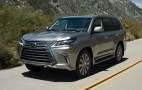 2016 Lexus LX 570 Gets Revised Look, More Technology