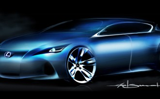 2009 Frankfurt Auto Show: Lexus Teases New Compact
