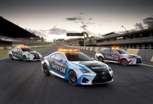 Lexus RC F chosen as V8 Supercars safety car