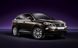 2013 Lexus RX Luxury Crossover Preview