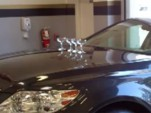 Lexus uses a 2011 LS 460 in its latest champagne glass ad