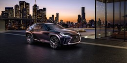 Lexus UX small crossover utility concept unveiled in Paris