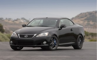 Lexus Expands F Sport Goodies To IS C, GS
