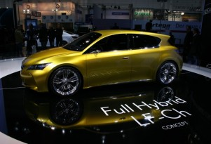 Lexus LF-Ch Compact Hybrid Concept Debuts In Frankfurt