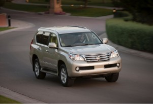 Sales Of 2010 Lexus GX 460 Halted For Rollover Safety Concern