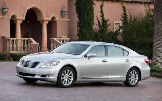 Toyota To Recall 11,500 Vehicles From The Lexus LS Line