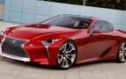 Lexus LF-LC Concept Debuts At 2012 Detroit Auto Show