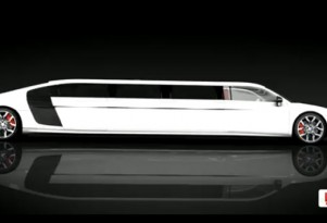 Limo Broker previews Audi R8 stretch limo