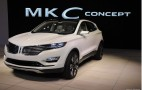 Lincoln MKC Concept Crossover: Detroit Auto Show Live Photos