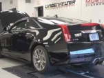 Lingenfelter 2011 Cadillac CTS-V Coupe on the dyno
