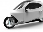 Lit Motors C-1, electric gyroscopic motorcycle [Image: Lit Motors]