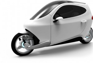 Lit Motors C-1: Electric Motorcycle That Won't Fall Over