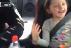 Little girl loves to go fast in her dad's 1,000-horsepower Nissan GT-R