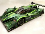 Lola-Drayson electric racing car. Image: Drayson Racing