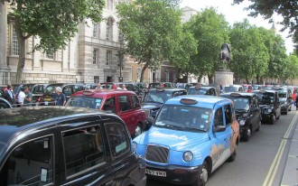 Uber Alles? European Cab Drivers Rally To Save Traditional Taxis, But It May Be Too Late