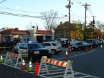 Long gas lines in Summit NJ in aftermath of Hurricane Sandy