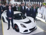 Lotus celebrates building its 1,000th Exige S