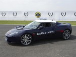 Lotus Evora S enters service with Italian Carabinieri