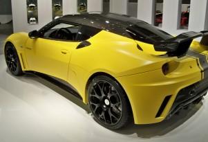 2012 Lotus Evora GTE live photos